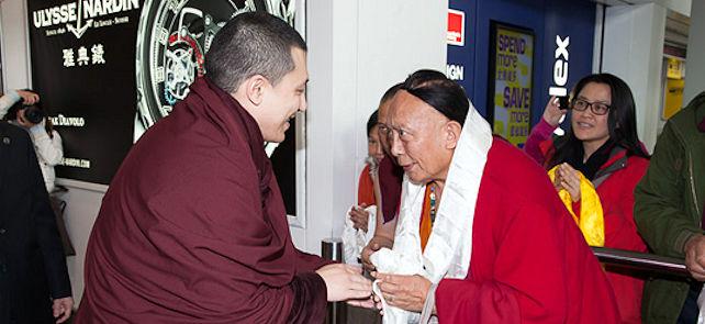 17. Karmapa ja Pewar Rinpoche