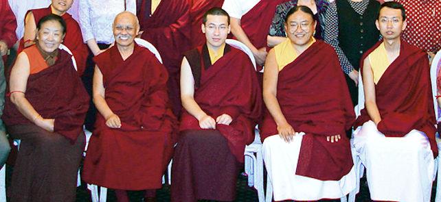 Luding Kenchen Rinpoche, 17. Karmapa ja Sakya Trizin Rinpoche