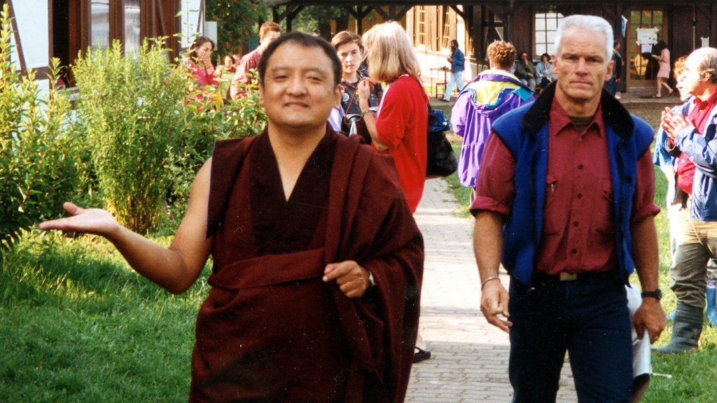 Shamar Rinpoche ja lama Ole Nydahl Kasselin kesäkurssilla