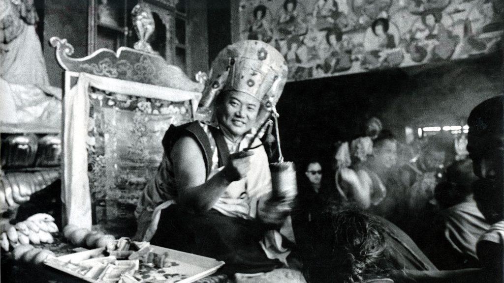 H.P. 16. Karmapa Rangjung Rigpe Dorje vuonna 1969