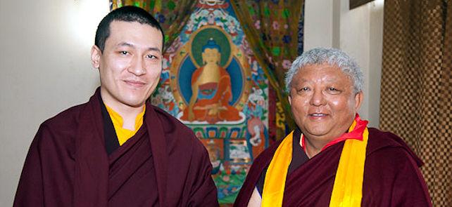 17. Karmapa ja lama Jigme Rinpoche