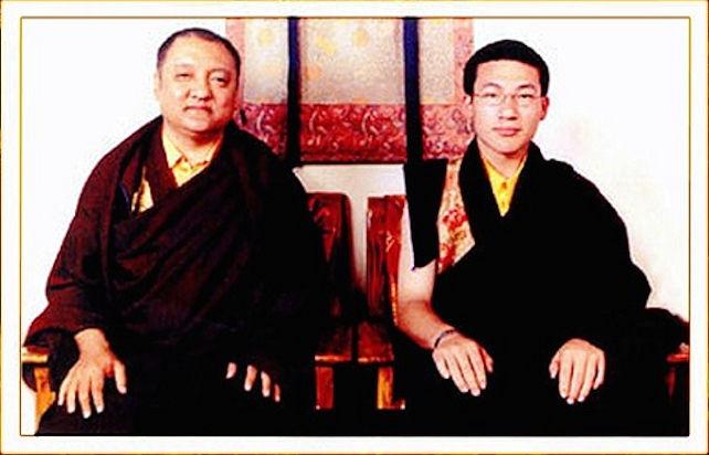 Sharmar Rinpoche ja 17. Karmapa
