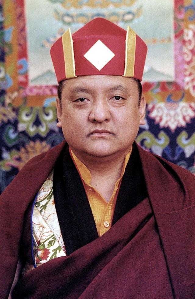 14. Künzig Shamar Rinpoche