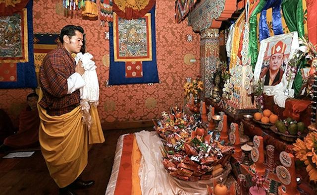 H.M. Bhutanin kuningas Jigme Khesar Namgyal Wangchuck