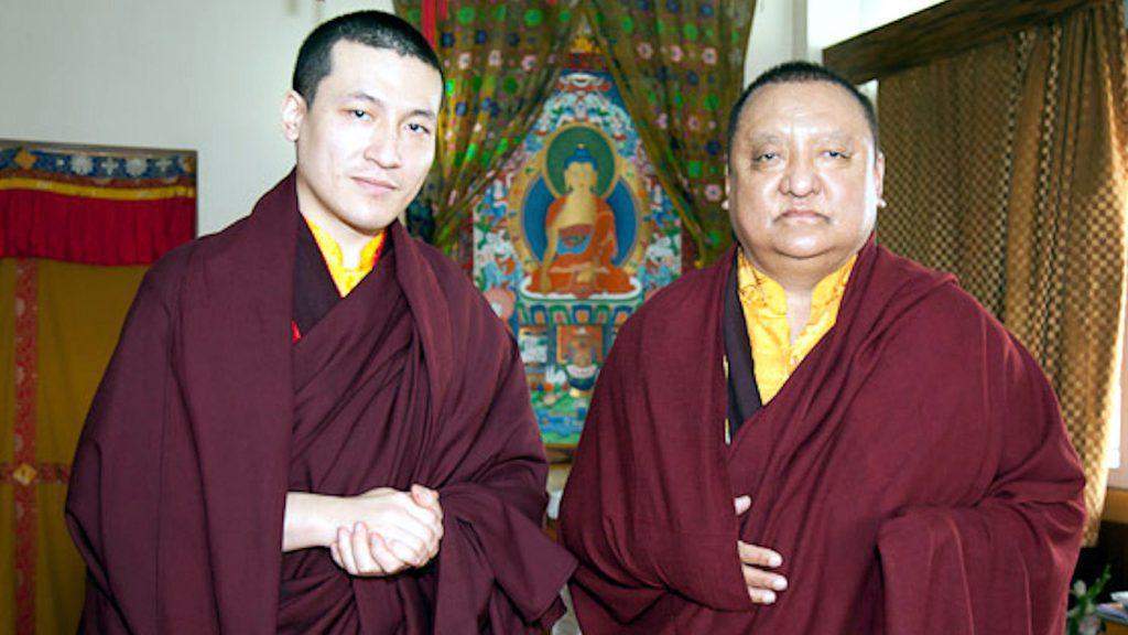 H.P. 17. Karmapa Trinley Thaye Dorje ja Shamar Rinpoche – © Thule Jug