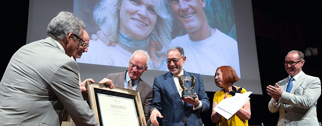 Lama Ole Nydahl vastaanotti Unescon palkinnon