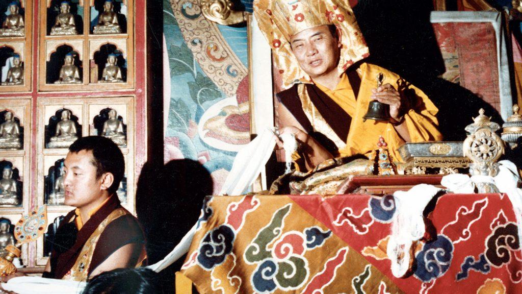 Shamar Rinpoche ja 16. Karmapa Rangjung Rigpe Dorje