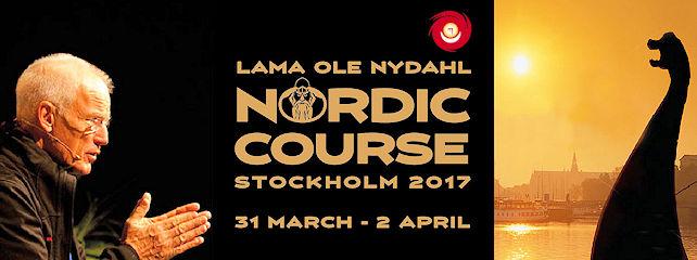 Lama Ole Nydahl Tukholmassa 31.3.–2.4.2017