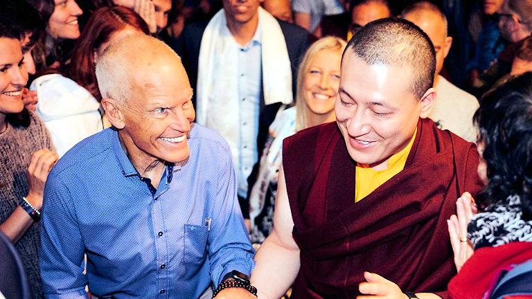 Lama Ole Nydahl ja Karmapa Thaye Dorje